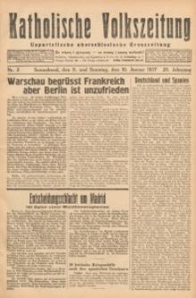 Katholische Volkszeitung, 1937, Jg. 20, Nr. 3