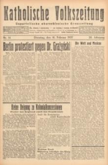 Katholische Volkszeitung, 1937, Jg. 20, Nr. 14