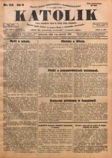 Katolik, 1928, R. 61, nr 95