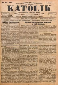 Katolik, 1928, R. 61, nr 99