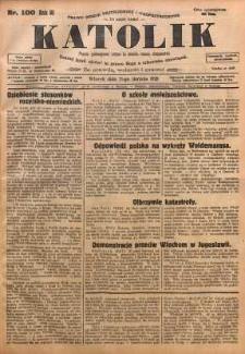 Katolik, 1928, R. 61, nr 100