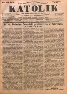 Katolik, 1928, R. 61, nr 111