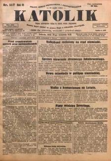 Katolik, 1928, R. 61, nr 117