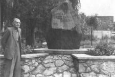 Głaz upamiętniający 1000-lecie powstania Brzozowic-Kamienia