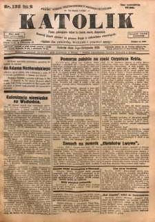 Katolik, 1928, R. 61, nr 132
