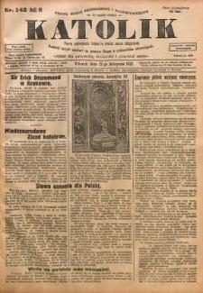 Katolik, 1928, R. 61, nr 142