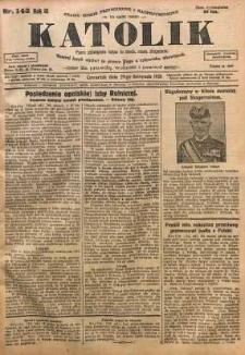 Katolik, 1928, R. 61, nr 143