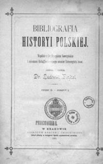 Bibliografia historyi polskiej. Cz. 2