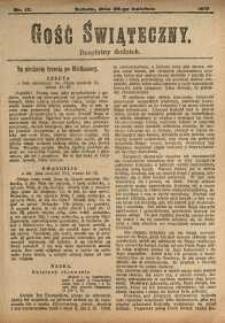 Gość Świąteczny, 1917, nr 17