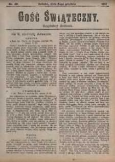 Gość Świąteczny, 1917, nr 49