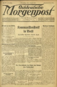 Ostdeutsche Morgenpost, 1935, Jg. 17, Nr. 217