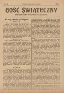 Gość Świąteczny, 1923, nr 22