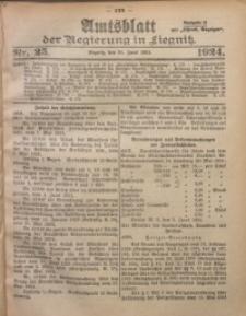 Amtsblatt der Regierung in Liegnitz, 1924, Jg. 114, Nr. 25