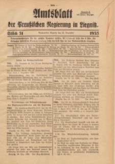 Amtsblatt der Preußischen Regierung in Liegnitz, 1935, Jg. 125, Nr. 51