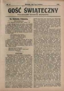 Gość Świąteczny, 1925, nr 14