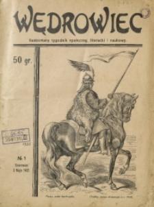 Wędrowiec, 1932, nr 1