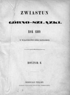 Zwiastun Górnoszlązki, 1869, R. 2, nr 1