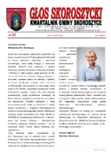Głos Skoroszycki : kwartalnik Gminy Skoroszyce 2018, nr 52.