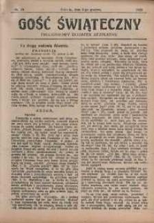 Gość Świąteczny, 1925, nr 49