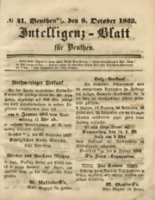 Intelligenz-Blatt für Beuthen, 1852, No. 41