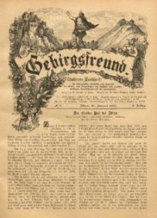 Gebirgsfreund, 1888/1889, Jg. 1, No. 9