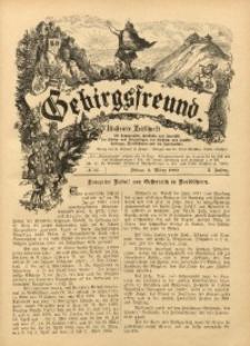 Gebirgsfreund, 1888/1889, Jg. 1, No. 12