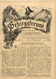 Gebirgsfreund, 1889/1890, Jg. 2, No. 6