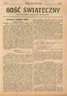 Gość Świąteczny, 1926, nr 8