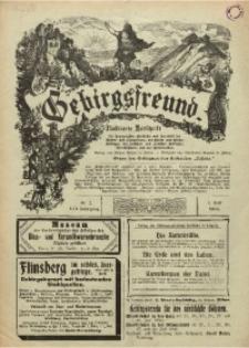 Gebirgsfreund, 1904, Jg. 15, Nr. 7