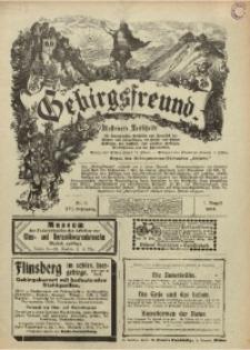 Gebirgsfreund, 1904, Jg. 15, Nr. 8