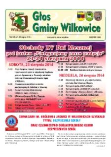 Głos Gminy Wilkowice : bezpłatna gazeta informacyjna. R. 8, nr 7 (90).