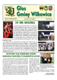 Głos Gminy Wilkowice : bezpłatna gazeta informacyjna. R. 8, nr 9 (92).