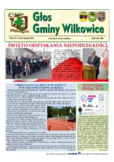 Głos Gminy Wilkowice : bezpłatna gazeta informacyjna. R. 10, nr 11 (118).