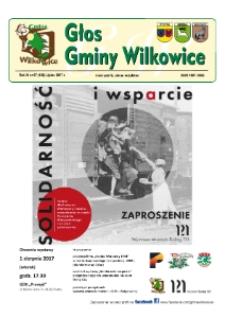 Głos Gminy Wilkowice : bezpłatna gazeta informacyjna. R. 11, nr 7 (126).