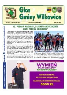 Głos Gminy Wilkowice : bezpłatna gazeta informacyjna. R. 14, nr 1 (156).