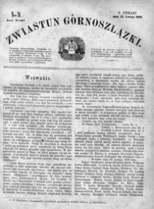 Zwiastun Górnoszlązki, 1869, R. 2, nr 9