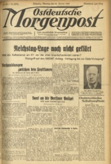 Ostdeutsche Morgenpost, 1933, Jg. 15, Nr. 24