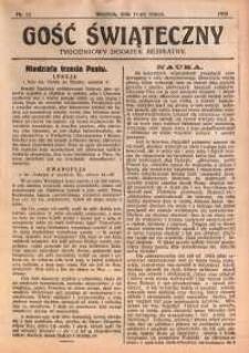 Gość Świąteczny, 1928, nr 11