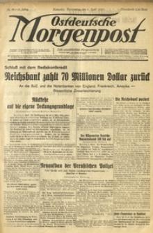 Ostdeutsche Morgenpost, 1933, Jg. 15, Nr. 96