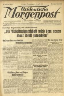 Ostdeutsche Morgenpost, 1933, Jg. 15, Nr. 103