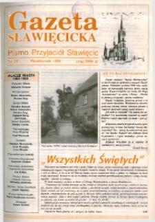 Gazeta Sławięcicka : pismo Towarzystwa Przyjaciół Sławięcic 1994, nr 20.