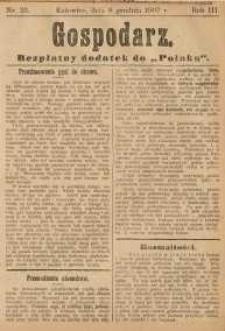 Gospodarz, 1907, nr 23