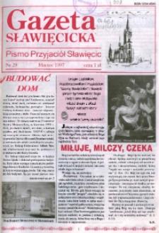Gazeta Sławięcicka : pismo Towarzystwa Przyjaciół Sławięcic 1997, nr 29.