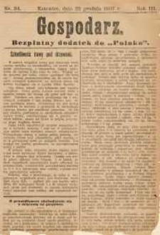 Gospodarz, 1907, nr 24