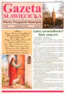Gazeta Sławięcicka : pismo przyjaciół Sławięcic 2005, nr 56.