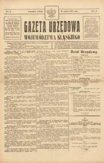 Gazeta Urzędowa Województwa Śląskiego, 1923, R. 2, nr 8
