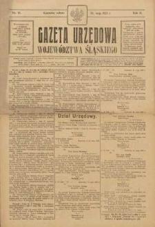 Gazeta Urzędowa Województwa Śląskiego, 1923, R. 2, nr 18