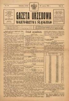 Gazeta Urzędowa Województwa Śląskiego, 1923, R. 2, nr 23