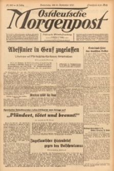 Ostdeutsche Morgenpost, 1936, Jg. 18, Nr. 265