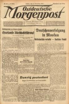 Ostdeutsche Morgenpost, 1936, Jg. 18, Nr. 315